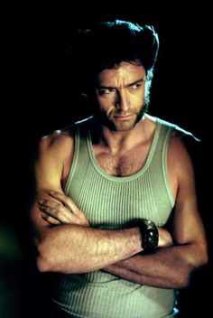 Hugh Jackman - Wolverine   #cipiacelabarba