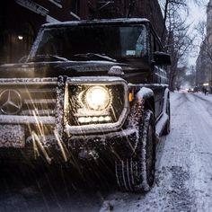 MercedesBenz G-Class NYC snow