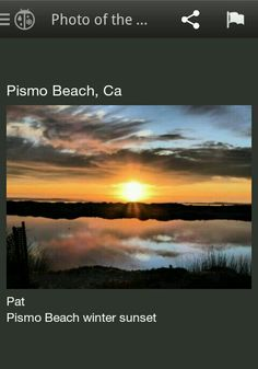Pismo Beach beauty.
