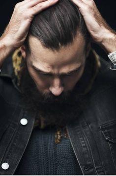 Beard Patrik J by Fredrik Augustsson Hipsters, Non Blondes, Dapper Gentleman, Beard Tattoo, Facial Hair, Perfect Man, Stylish Men, Bearded Men, Brows