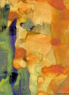 Profil (Profile) - Richter, Gerhard - Photo Realism - Watercolour - Abstract - TerminArtors