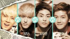 [FULL] EXO (엑소) - SK LTE CF (EXO vs EXO) Dance Battle Round.