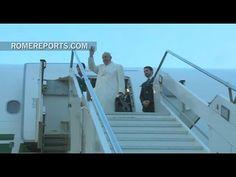 El Papa Francisco parte hacia México y Cuba