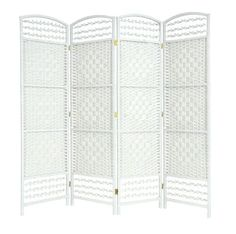 WHITE 4 PANEL HAND MADE WICKER ROOM DIVIDER / PARTITION / PRIVACY SCREEN - NEXT WORKING DAY DELIVERY EAZYGOODS http://www.amazon.co.uk/dp/B00IC7Q97Q/ref=cm_sw_r_pi_dp_vX99wb1KGSM17