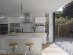 A contemporary extension for a family home in London