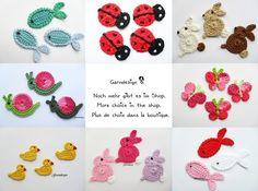 Bu modeller harika 'baykuş, balık, cupcake....' (tığ işi) ~ .::HobiBox::.