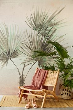 🌿Eijffinger has launched her brand new TERRA collection 🌿based on Mother Earth's beautiful landscapes. My favourite scenery (so far) is Tarangire National park in Tanzania🧡 What's yours? Motif Jungle, How To Hang Wallpaper, Photo Mural, Pip Studio, Outdoor Chairs, Outdoor Decor, Source Of Inspiration, Beautiful Landscapes, Palm