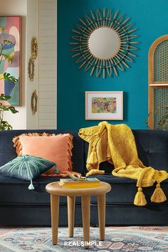 """Justina Blakeney of Jungalow Shares Her Top Decor Tips and Favorite Products From Her Affordable Boho-Style Target Collection 
