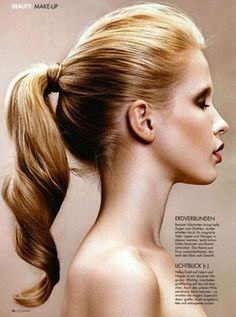 Prom hair simple and stylish