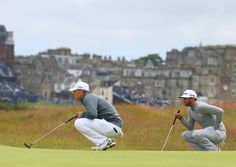 British Open 2015: Jordan Spieth and Dustin Johnson Bring the Old Course to Its Knees - The New York Times