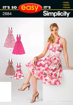 It's So Easy Sewing Patterns : : Simplicity Patterns : Misses Women's Dresses