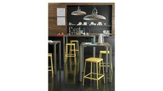 stilt 2-top counter table $349