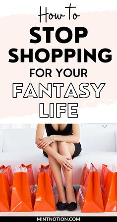 Compulsive shopping. How I stopped shopping for my fantasy life. How to stop a shopping addiction. Learn how to stop buying clothes for your imaginary life. How to shop with intention. How to stop buying unnecessary things. Overcome a spending addiction. Life On A Budget, Paying Off Student Loans, Debt Free Living, Fantasy Life, Create A Budget, Frugal Living Tips, Lifestyle Clothing, Love Your Life, Saving Money