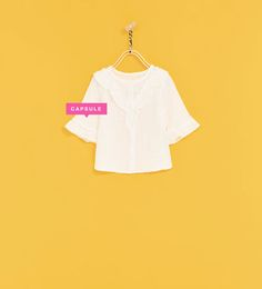ZARA - KIDS - FRILLY SHIRT