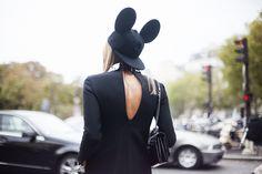 Moda en la calle en Paris Fashion Week. Septiembre y octubre de 2013 © Josefina Andrés