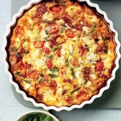 Quiche recipe: Forget the pastry tomato, feta & Parma ham Quiche