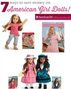 Find out how to save money on american girl dolls!