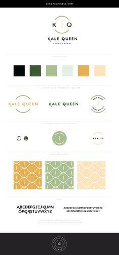 Minimal Brand Design Kit ~ Araminta by Mindful Pixels on Corporate Design, Brand Identity Design, Branding Design, Corporate Identity, Visual Identity, Marca Personal, Personal Branding, Web Design, Graphic Design
