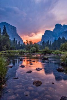 Dawn, Yosemite, by Jingjing Li on 500px