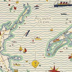 ralph lauren wallpaper | Ralph Lauren Out to Sea wallpaper