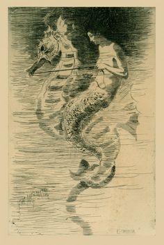 The Mermaid by Frederick Stuart Church