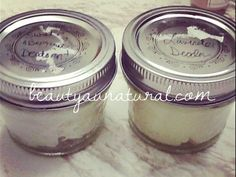 Beauty Au Natural: DIY Deodorant Cream Update - 1 Success, 1 Fail