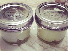 Beauty Au Natural: DIY Deodorant Cream Update - 1 Success, 1 Fail