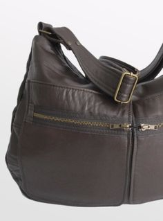 recycled leather from once warn