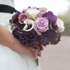 Wedding Color Purple - Purple Wedding Ideas | Wedding Planning, Ideas & Etiquette | Bridal Guide Magazine