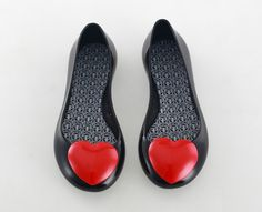 Faux Pas Paris - Black Opera Ballet Flat - Little Girl