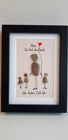 Father's Day gift, dad's the best, stone picture - bricolage - . Father's Day gift, dad's the best, stone picture - bricolage - Fathers Day Presents, Gifts For Dad, Diy Couture Cadeau, Xmas Gifts, Diy Gifts, Unique Gifts, Diy Cadeau Maitresse, The Family Stone, Stone Pictures