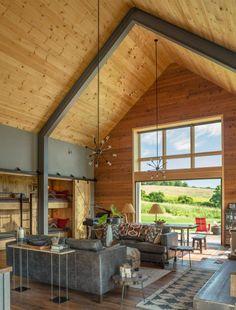 Captivating Modern Barn by Joan Heaton Architects