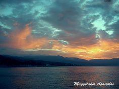 Ηλιοβασίλεμα στα Βοτσαλάκια - Sunset in Votsalakia