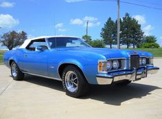 1973 Mercury Cougar XR-7 Convertible