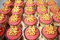 Chinese wedding cupcakes - for a rehearsal dinner?