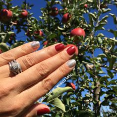 My Color Street mani was as juicy as the apples we picked yesterday 🍎🍏  #BeColorful #BeBrilliant #BeColorStreet #nails #nailpolish #nailstrips #apple #applepicking #sunday #familytime #workwhileiplay #fallfun #fall #autumn #madeintheusa #colorstreetjessicamac  www.mycolorstreet.com/jessicamac/