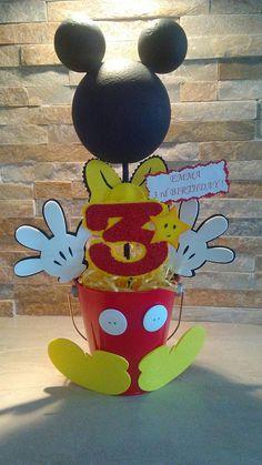 Mickey Mouse centro de mesa / centros de mesa de Mickey bebe