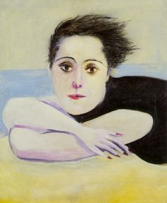Pablo Picasso - Dora Maar on the Beach, 1936
