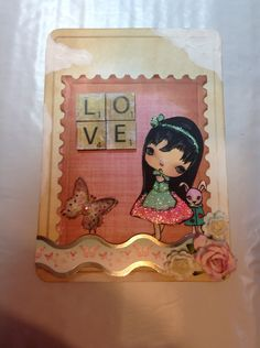 Card I made for a little girl by Delores Miller