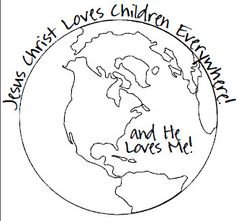 Children Around The World Coloring Page Nursery Missions