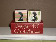 Countdown to Christmas Idea