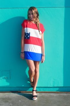 4th of July Outfit. #RandisCandi