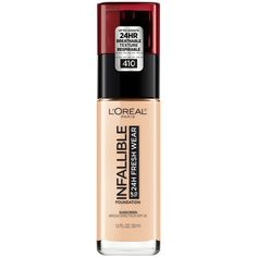 L Oreal Infallible Base 145 Beige Rose Maquillaje > Base liquida Foundation With Spf, Long Lasting Foundation, Waterproof Foundation, Matte Foundation, No Foundation Makeup, Lightweight Foundation, Powder Foundation, The Face, Rimmel