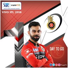 So, we are finally there! Only 1 Day To Go for #IPL2018. 8 Teams Battle of #BESTvsBEST #VIVOIPL2018 from April 7th LIVE on YuppTV. Don't miss to watch IPL - Indian Premier League opening ceremony tomorrow  #1DayToGo #VIVOIPL2018onYuppTV Available in Europe ,Singapore, Australia, Malaysia, South East Asia & Central & South America