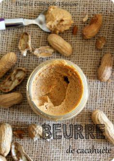 Beurre de cacahuète - Cuisine de Djanisse