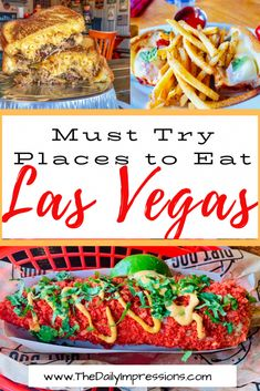 Las vegas is home to some of the most unique and tasty places to eat. Check out our 5 must try las vegas restaurants on the strip and off strip Las Vegas Eats, Las Vegas Food, Las Vegas Restaurants, Las Vegas Hotels, Best Food In Vegas, Las Vegas Buffets, Best Las Vegas Buffet, Las Vegas Desserts, Las Vegas With Kids