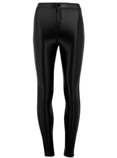 Noir disco pants