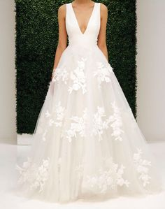 Wonderful Perfect Wedding Dress For The Bride Ideas. Ineffable Perfect Wedding Dress For The Bride Ideas. Best Wedding Dresses, Wedding Attire, Wedding Styles, Wedding Gowns, Tulle Wedding, 2017 Wedding, Party Dresses, Dresses 2016, Modest Wedding