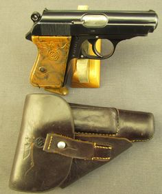 Rare Third Reich Party Leader Walther PPK Pistol with Original Holster