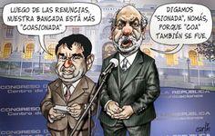 """El trazo de Carlín sobre la salida de 4 congresistas de la bancada de """"Gana Peru"""""""